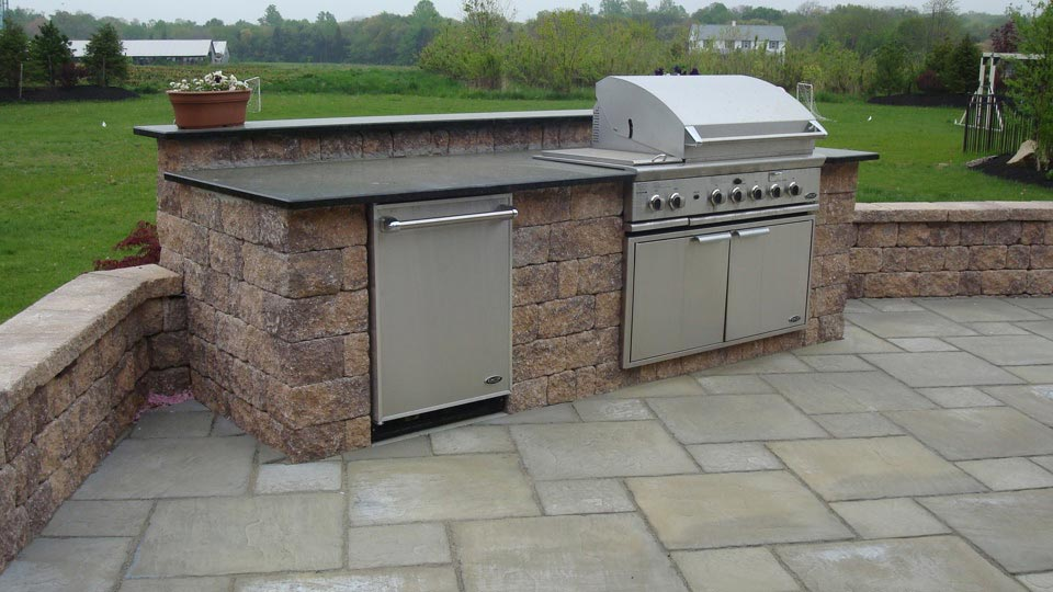 Built In Grills Bbq Island Outdoor Kitchen Ideas Images