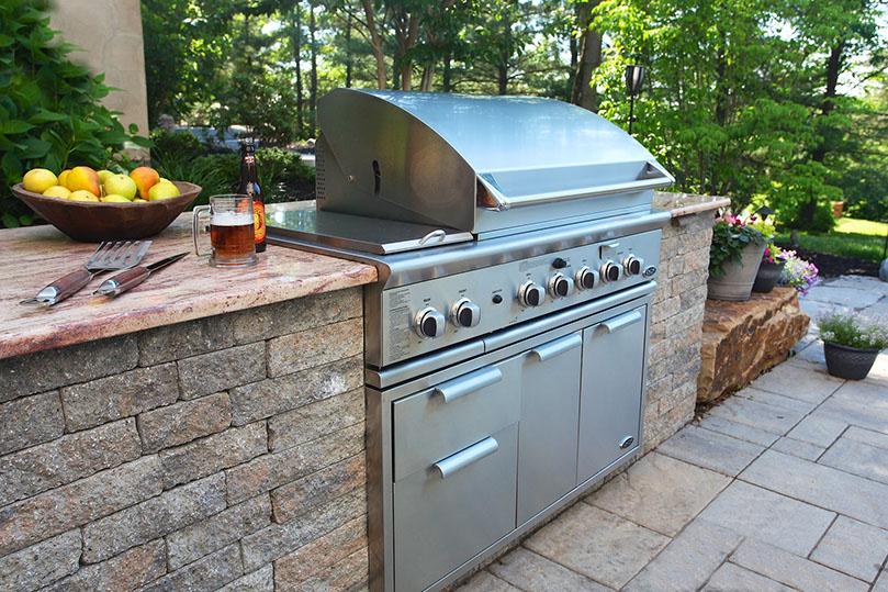 built in grill, dcs in pennington, nj