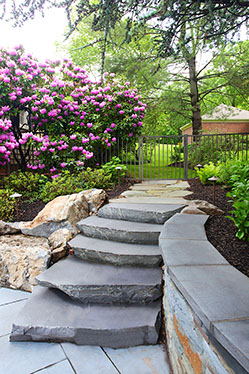 Masonry walkways