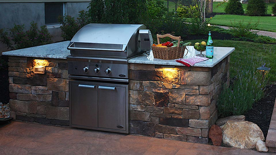 Built In Grills Bbq Island Built In Grill Outdoor