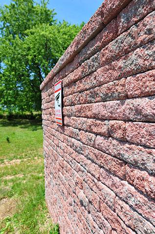 Paver Stone Walls