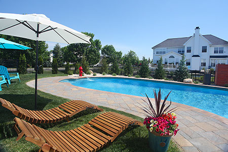 Large Pool Deck