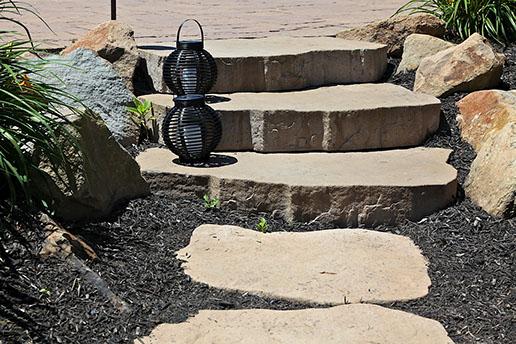 Stepping Stone Walkway