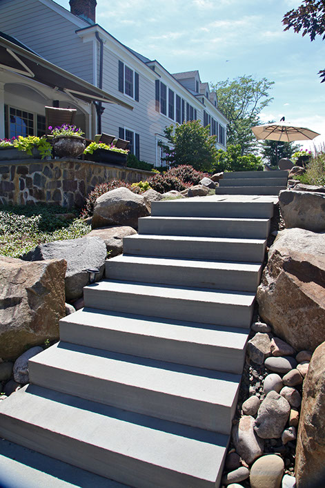 natural blue stone super treads