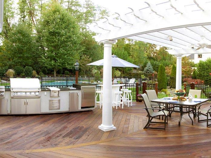 Timberframe Structures Gazebos Pergolas Gladstone, NJ