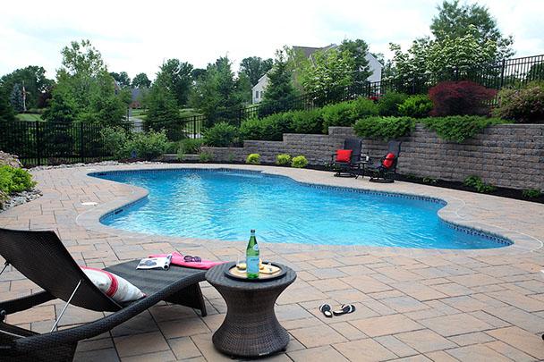 Private.  Relaxing.  Backyard retreat.