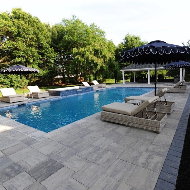Central Nj Landscaping Design Gunite Pool Contractor