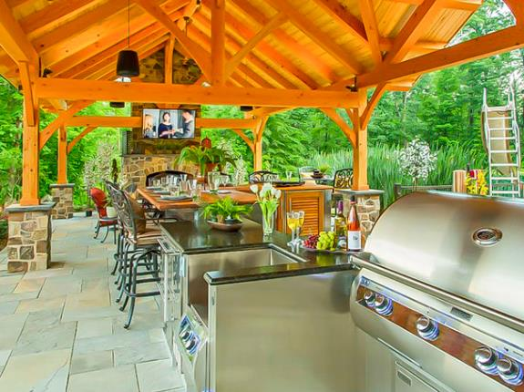 Somerset County Outdoor Kitchens