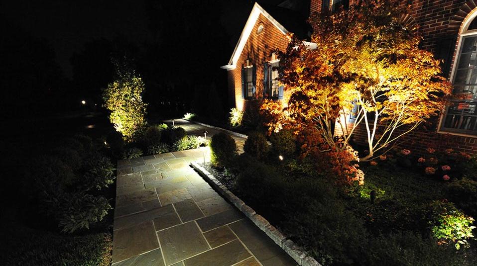 Somerset County Landscape Lighting