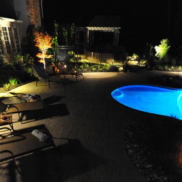 Bucks County Landscape Lighting