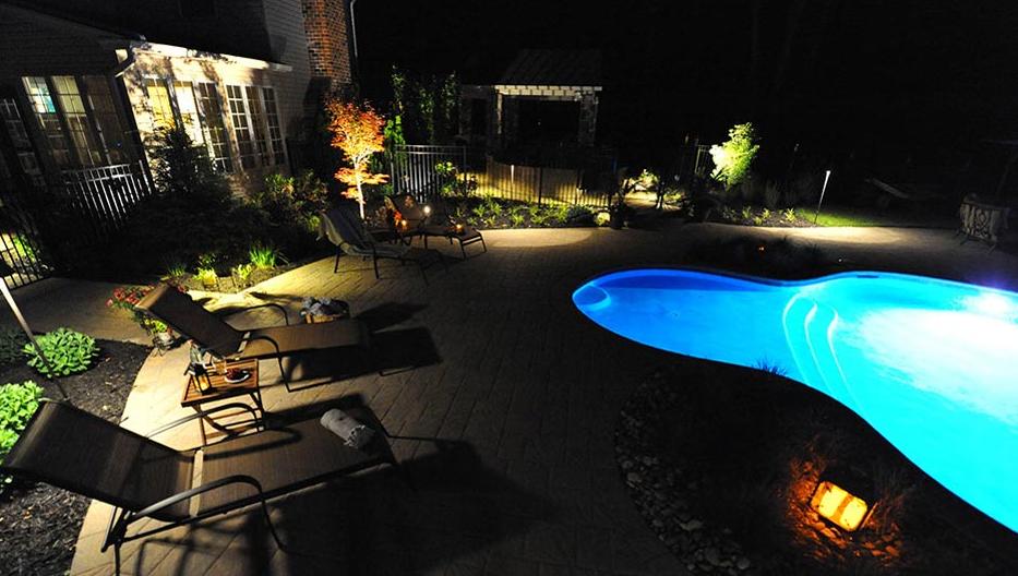 Mercer County Landscape Lighting